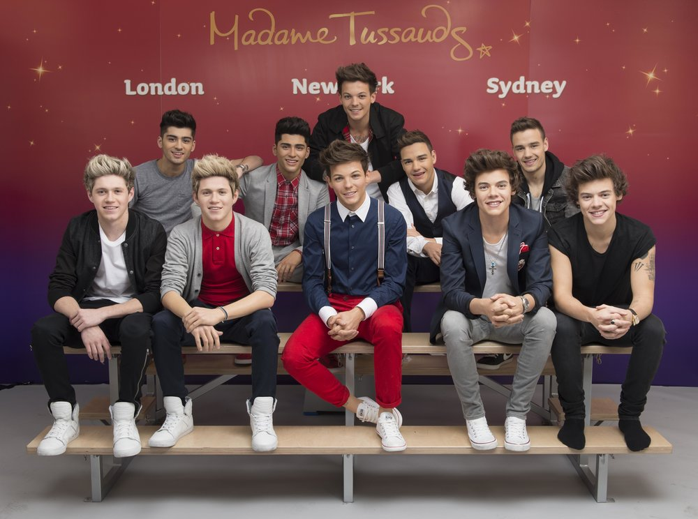 ONE DIRECTION  Madame Tussauds Touring Copyright - Merlin Magic Making