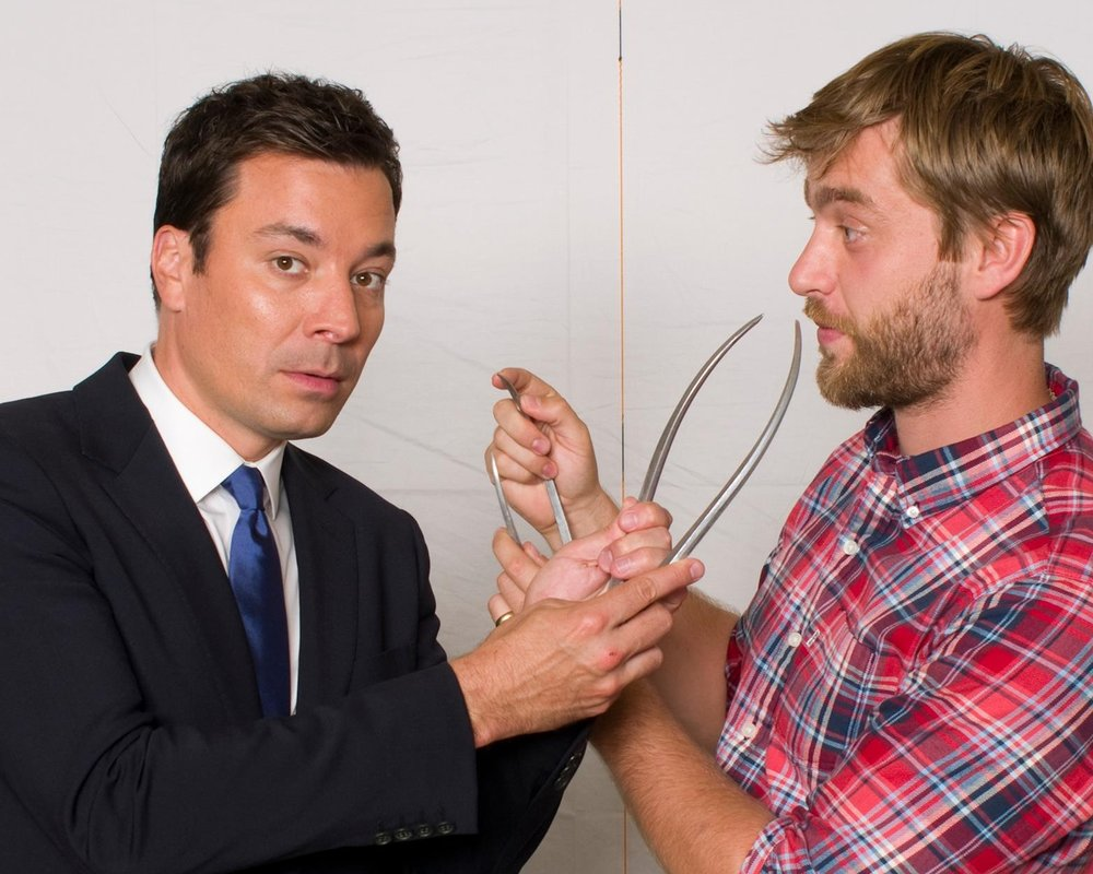 JIMMY FALLON  Madame Tussauds USA - Sitting Sitting Sculptor - Alex Carlisle Sitting Photographer - Mel Brown Copyright - Merlin Magic Making
