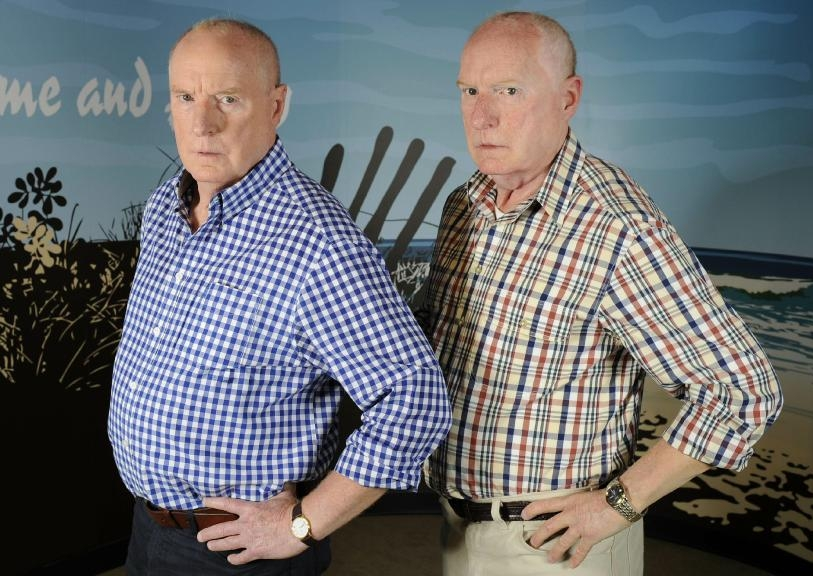 RAY MEAGHER as ALF STEWART  Madame Tussauds Sydney Principal Sculptor - Louis Wiltshire Figure Photography - Mel Brown Copyright - Merlin Magic Making