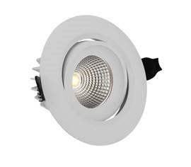 Det anbefales å velge dimmer i tillegg til LED downlightsene