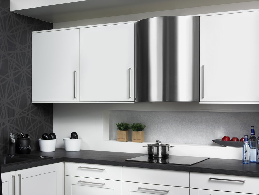 <b>Stål ORION RV 60/70</b> <br>Prikken over i'en på kjøkkenet! Elegant, fleksibel veggmodell