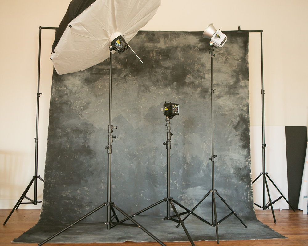 Natural light studio is equipped for all types of shoots