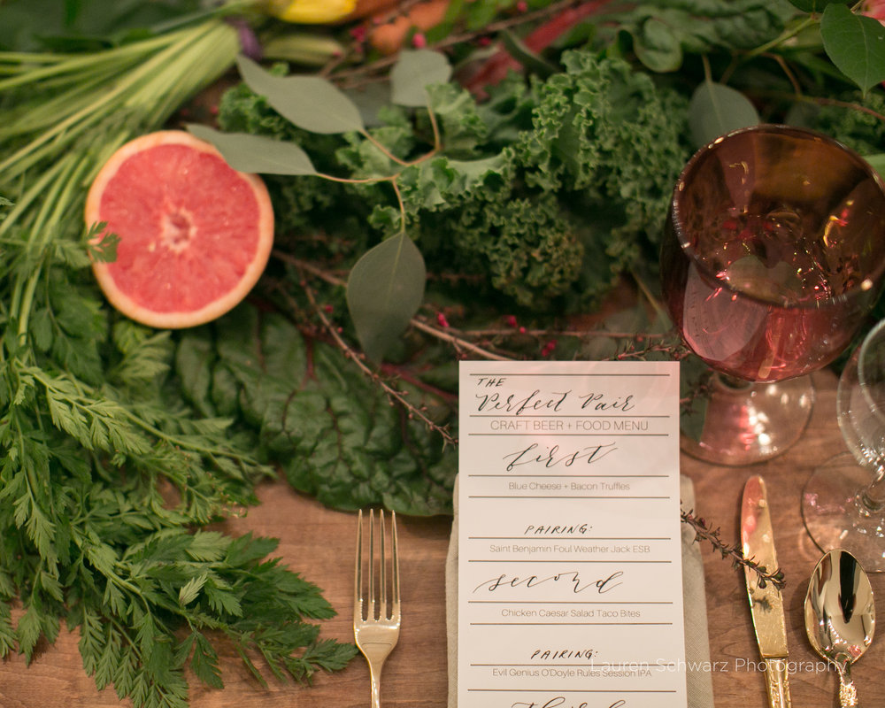Table Scape by A Cottage Gardener Florist
