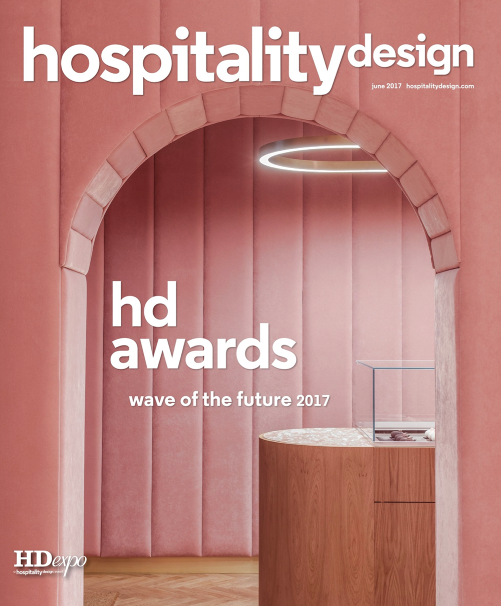 HOSPITALITY DESIGN MAGAZINE  SEPTEMBER 2017