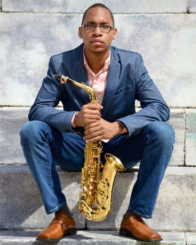 Tyrone Page, Jr., saxophones   An accomplished saxophonist and educator, Tyrone Page Jr. has had tremendous success working with composers and other musicians to expand contemporary saxophone repertoire. Actively involved in the performance of new works, Tyrone performs regularly in the Baltimore area and across the Eastern United States as a soloist, chamber, and orchestral musician. This season, Tyrone will premiere a new and extended version of Fluorescent Skeleton (after Jasper Johns,  Regrets ), which was written by James Young and premiered last Spring. Within the next year he will also premiere Wrath, which is a commissioned work for tenor saxophone and piano written by Stacy Garrop.     In competition, Tyrone was a Local Gold Medalist for the NAACP ACT-SO competition and competed in Los Angeles, winning the National Silver Medal for Instrumental Classical Music (2011). In 2012, Tyrone was granted the Hoffberger Foundation Scholarship through the Baltimore Scholars Program to attend the Peabody Conservatory. In 2014, Tyrone was selected by the Johns Hopkins Institution's Diversity Leadership Council to receive a Diversity Recognition Award for his work with the Baltimore Symphony Orchestra's OrchKids program and Peabody's Black Student Union. Last Spring, Tyrone was a semi-finalist and finalist, winning 3rd place in the 2016 Peggy and Yale Gordon Concerto Competition. This year Tyrone was a finalist in the Eastern Connecticut Symphony Orchestra Concerto Competition.     Additionally, he has been featured in recent performances with the Peabody Concert Orchestra, Peabody Modern Orchestra, and regularly plays with the Peabody Wind Ensemble. As a teaching artist with the OrchKids and the BSA TWIGS programs, he performs with, teaches and mentors young students in Baltimore City.     Tyrone is a graduate of the Baltimore School for the Arts, where he studied with Dr. Christopher Ford. He holds degrees in Saxophone Performance and Music Education at the Peabody Conservatory of The Johns Hopkins University. Tyrone is continuing his studies in saxophone with Gary Louie and conducting with Dr. Harlan Parker at the Peabody Conservatory.