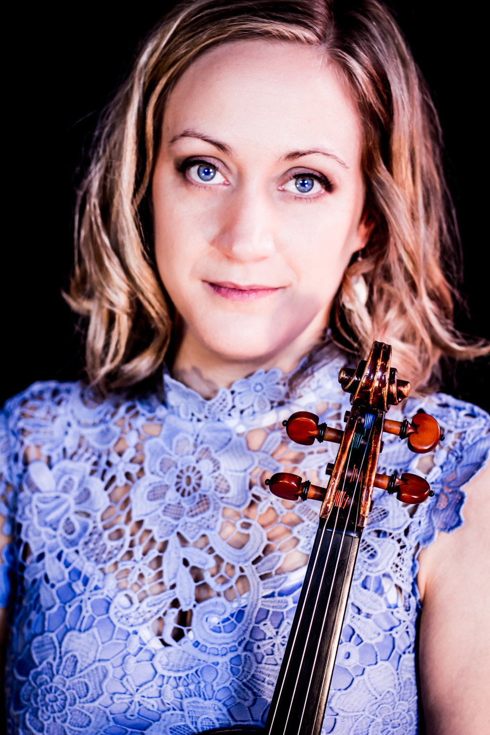 Lauren Rausch, violin     Violinist Lauren Rausch enjoys a dynamic career as an artist-teacher in the mid-Atlantic region and beyond. An active recitalist with programs this spring at Catholic University and historic Dumbarton Church in Georgetown, she performs regularly with the Baltimore Chamber Orchestra and recently represented Carnegie Hall as a teaching artist for PlayUSA, a program that supports music for children in underserved communities across the country.  A devoted performer of new music, Rausch is a founding member and Managing Director of SONAR, an award-winning ensemble based in Baltimore. She regularly appears as a soloist for Baltimore's Evolution Contemporary Music Series where she has worked with composers such as John Luther Adams, Caroline Shaw, and Missy Mazzoli. Her advocacy of new music extends to her teaching. Rausch encourages students of all levels to perform new music, and she will present on this topic at the national conference of the American String Teachers Association in Pittsburgh this spring.  Rausch is on the faculty at the Peabody Preparatory where she also serves as Assistant Director of the Young Peoples' String Program. In her role as Coordinator of the Tuned-In Strings program, she partners with the Baltimore Symphony's ORCHKids program to bring promising young students from the city to study at Peabody. Rausch was recently appointed Director of Allegro Strings, a summer program for string students with campuses in Towson and Howard County. She also maintains a successful private studio and regularly leads workshops for young string students in throughout the region. In addition to her work with pre-college musicians, she serves as an instructor at the Peabody Conservatory and at the Krieger School of Arts and Sciences at JHU. Rausch holds degrees from the Peabody Conservatory, the University of Oregon, and Arizona State University, and has performed at major festivals throughout North America.