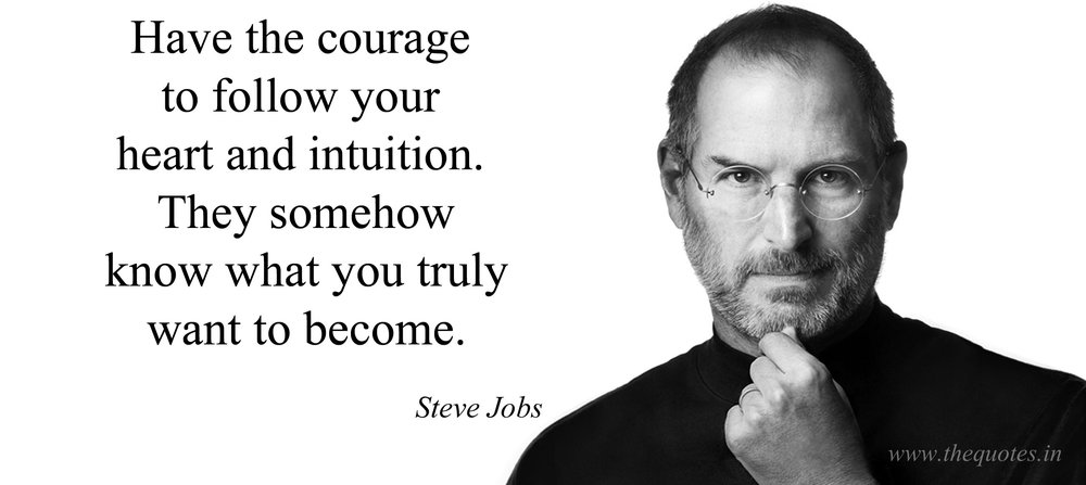 yes...it takes courage.