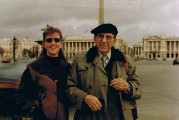 Bon Voyage with Papa in Paris!