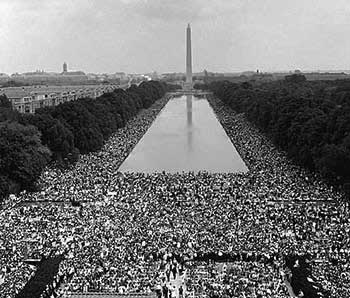 Aug. 28, 1963 — picture from freedommarchusa.org