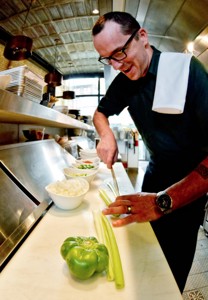 Chef Steve McHugh – Photo by Jonathan Alonzo