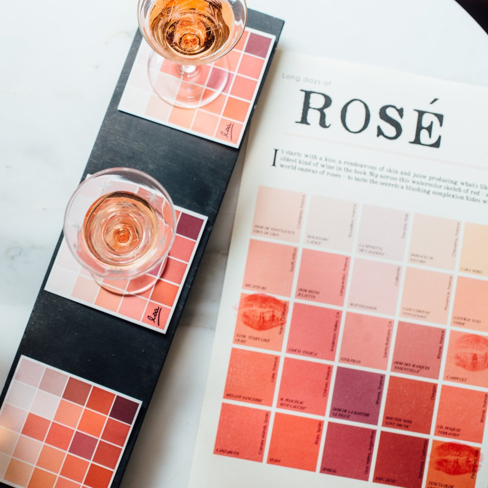 50 SHADES OF ROSE Loa's Playful Rose Flights -