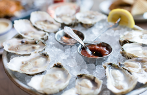 Valentine's Day Oysters -