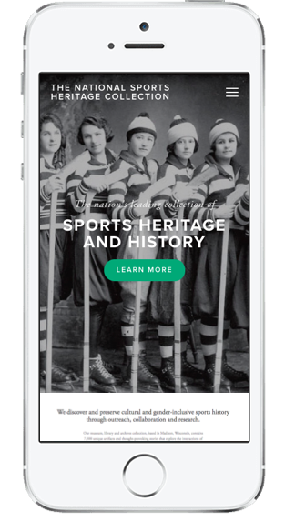 National Sports Heritage Collection Mobile Screen.png