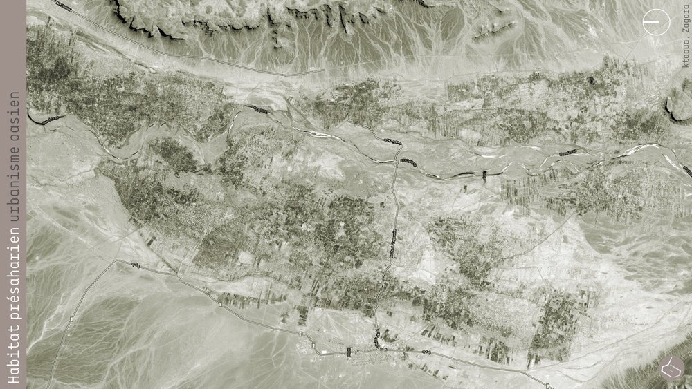 17. Il y a d'autres palmeraies beaucoup plus larges, comme celle de Ktaoua, l'avant-dernière de la vallée du Drâa à Zagora.       17. There are other palm groves much broader, such as Ktaoua, the last but one of the Drâa valley in Zagora.