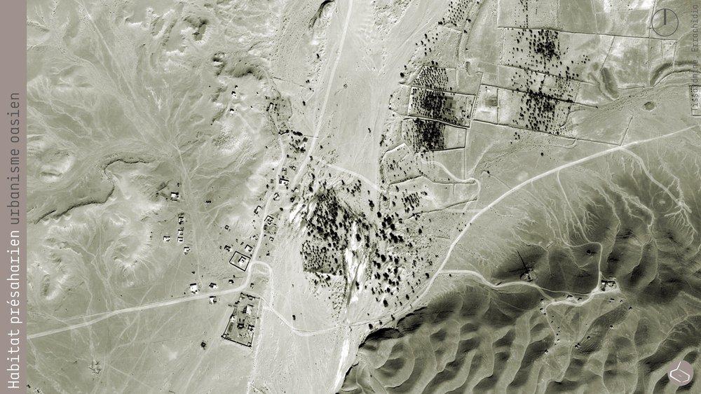 29. Mais tous les tribus nomades n'ont pas eu la possibilité de s'installer dans une palmeraie. Dans la région d'Errachidia, à 17km à l'est de Rissani, près de la frontière avec l'Algérie, il y a un village, Tissardmine…       29. But all the nomad tribes have not been able to settle down in a palm grove. In the region of Errachidia, 17km east of Rissani, near the border with Algeria, there is a village called Tissardmine...