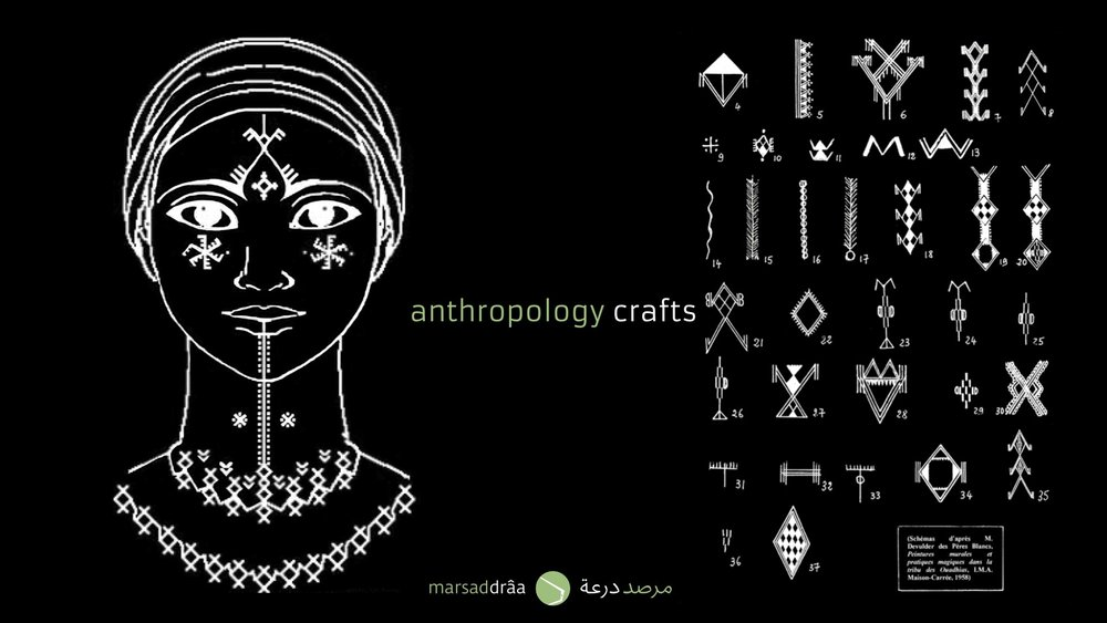 The Berber tattoos.
