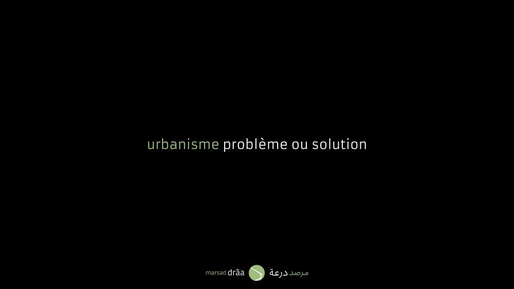 Bien si l'on considère l'urbanisme comme un problème qui met en péril les écosystèmes, il est aussi possible d'utiliser l'urbanisme comme un instrument pour résoudre certains problèmes.