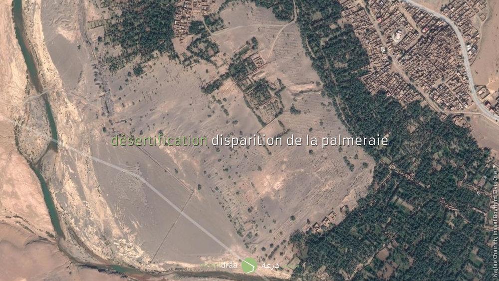 Avec cette hypothèse, on essayera d'arrêter l'avancement de dunes.