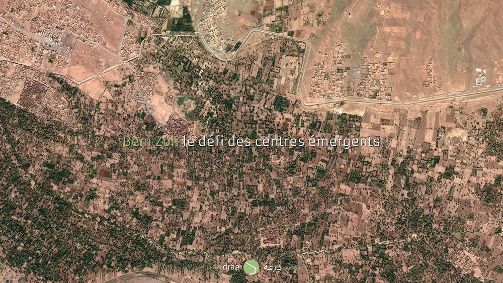 À Beni Zoli, comme à Tinzouline, Tammegroute... cette question a été déjà posée et même répondue avec des plans d'aménagements.