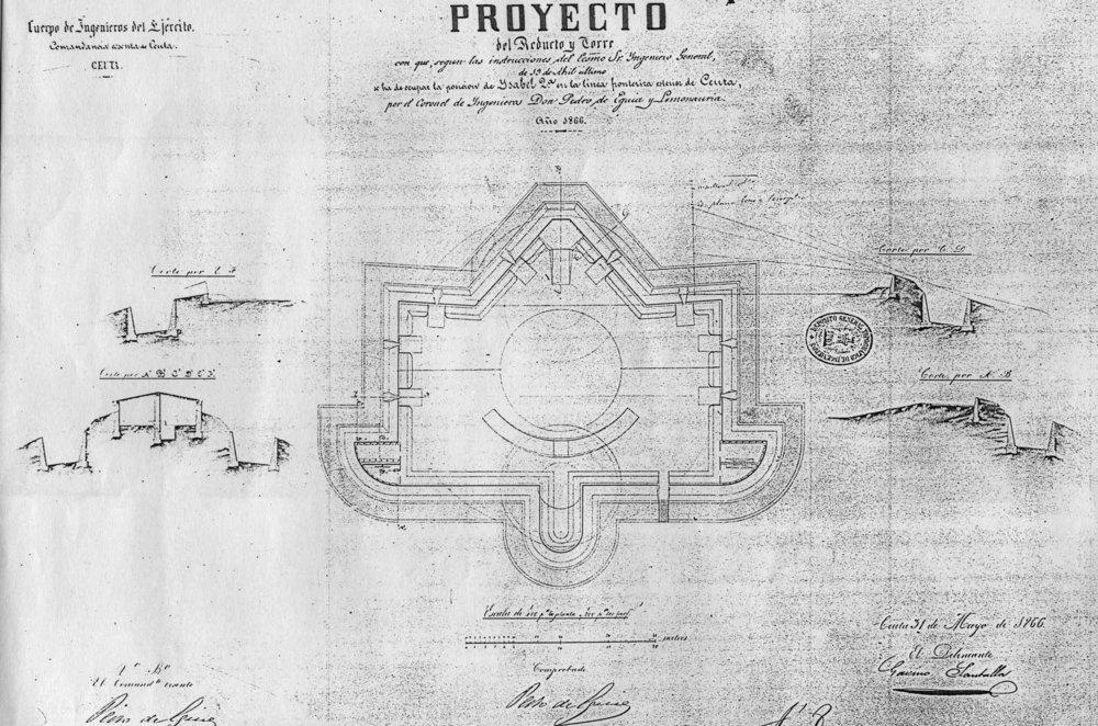 figura 12: proyecto de Isabel II por Pedro de Eguía, 1866