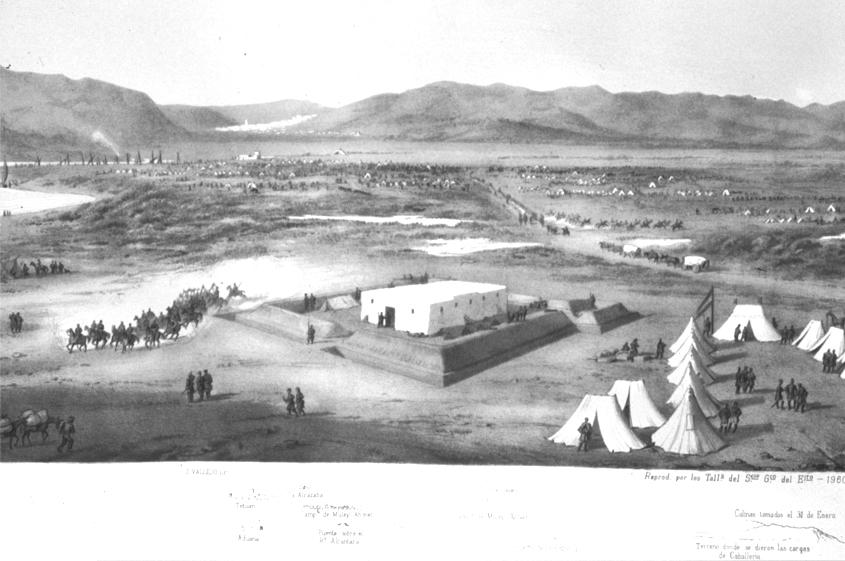figura 5: Reducto. Atlas de la Guerra de África, 1860