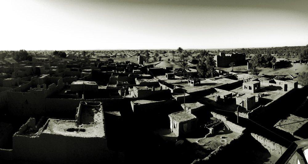 🅦 Architectural guide plan, Zagora (Morocco) 2016