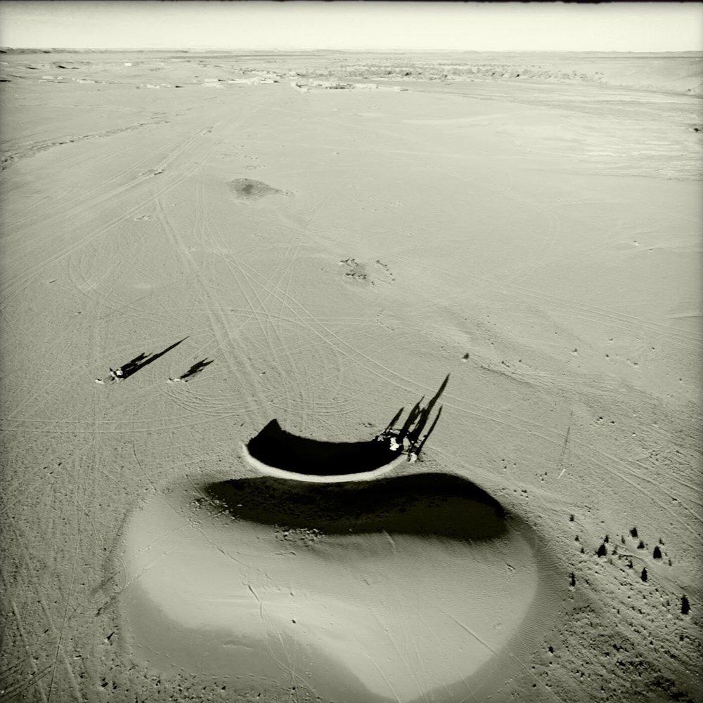🅦 Dune barrier, Tissaerdmine (Morocco) 2015 (work in progress)