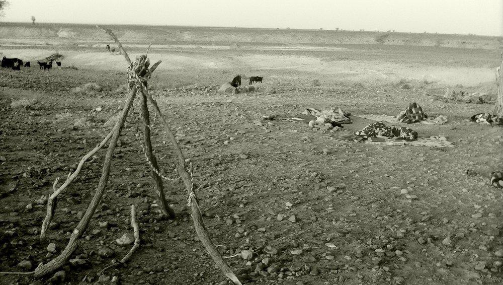 Nomads near Erg Chegaga, Zagora (2012)