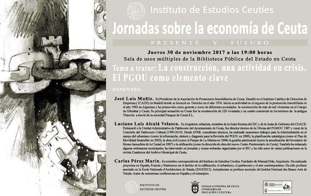 JORNADAS ECONOMÍA DE CEUTA, Ceuta (España) 2017