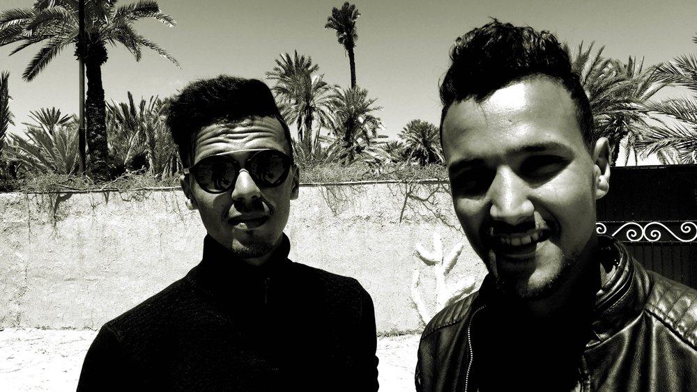 Mohamed Salem Chafaai and Hamza Sabar