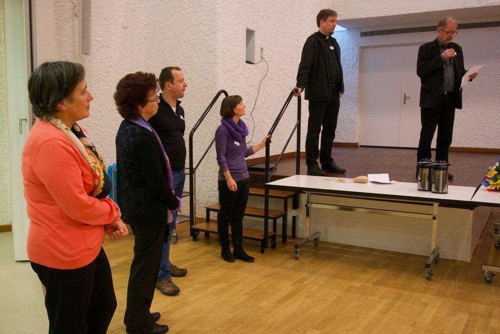 Hier das Organisations-Kernteam (von links): Franziska Keller, Rösly Wirz, Meinrad Grüniger, Marlene Ineichen, Philipp Isenegger, Karl Isenegger. Es fehlen Ruth Meyer und Josy Bühler.