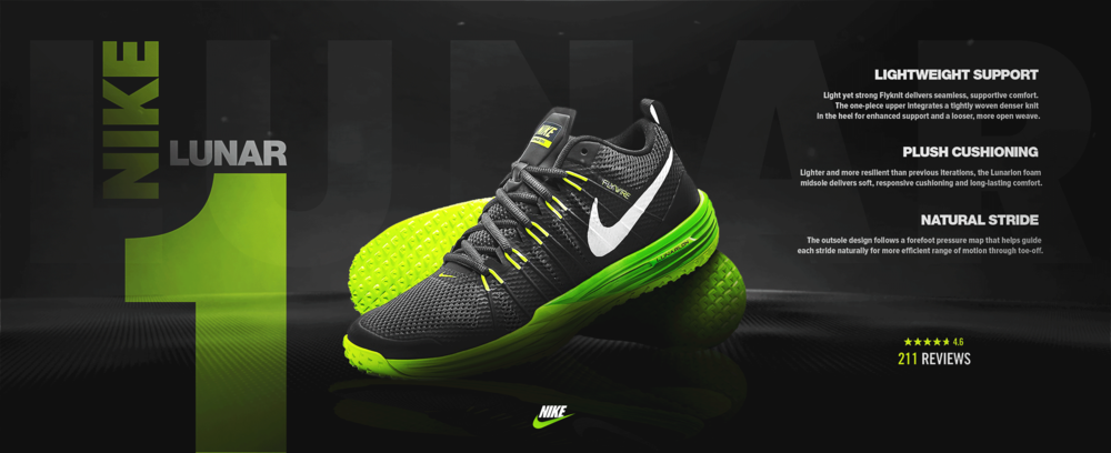 competitive price 7b865 42738 Nike Lunar — Blake Wyrick Design