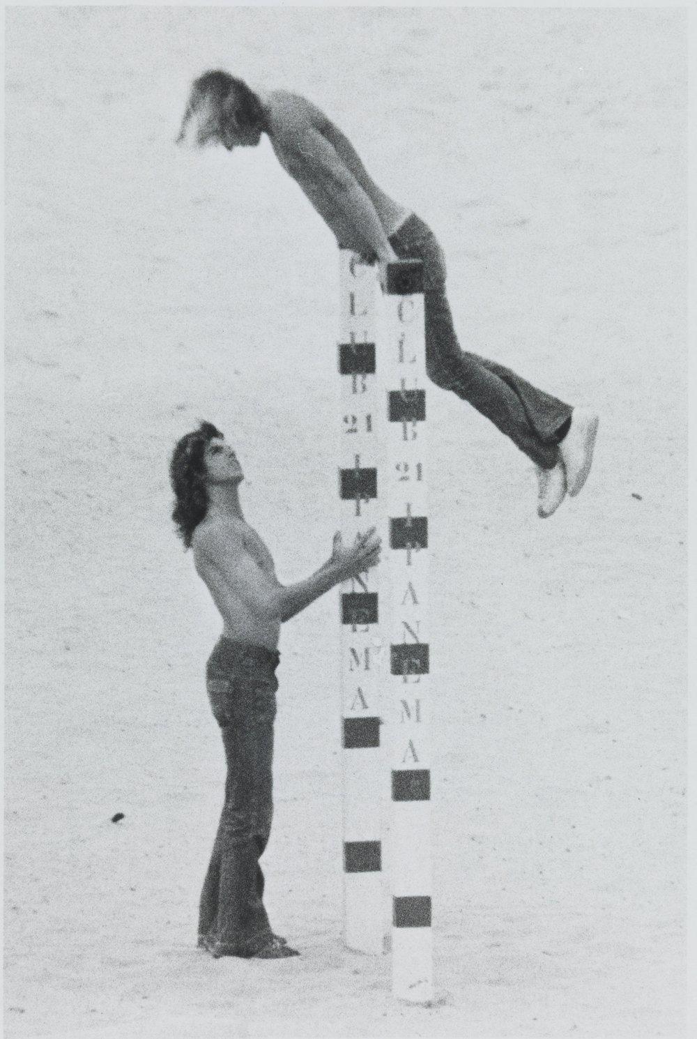 Alair Gomes, série Sonatinas, Four Feet, 1970-1980, fotografia, 17,2 x 11 cm