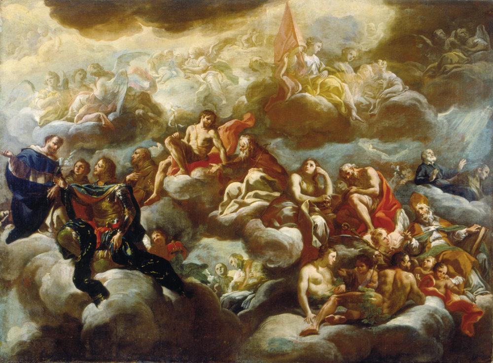 Corrado Giaquinto, Apoteose de São Nicolau