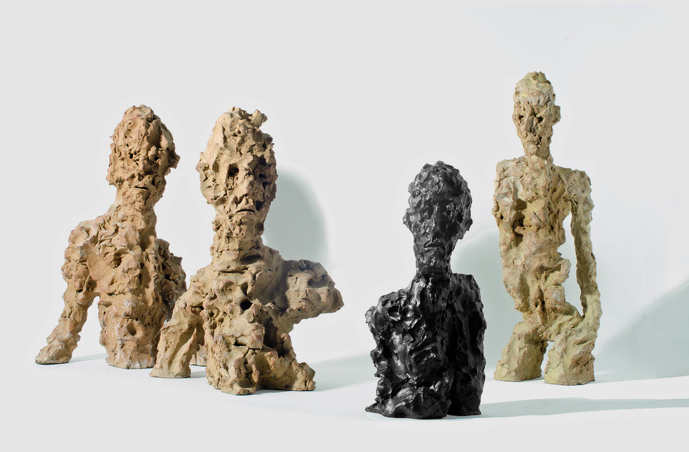 Gianguido Bonfanti, consagrado como pintor, apresenta produção recente de esculturas