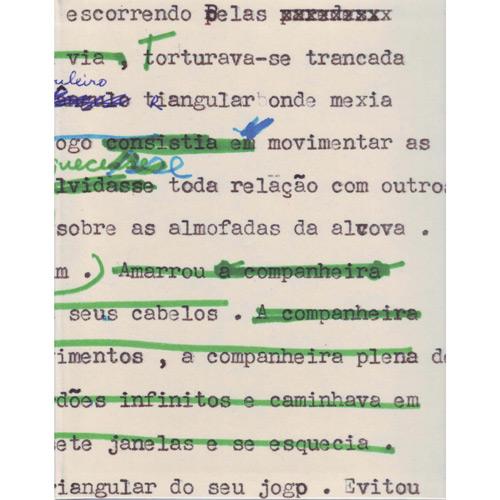 Detalhe de rascunho de Ana C.- Sua obra é referência no Brasil do século XX