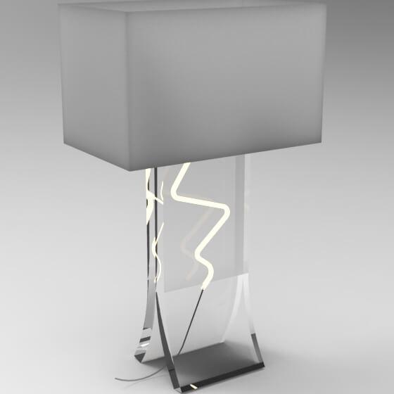 Fabíola Bergamo (luminária de mesa reflex)