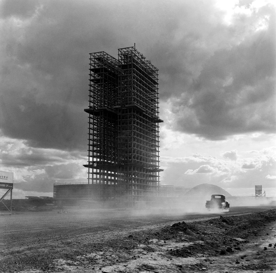 Pedrosa escreveu intensamente sobre o Desenvolvimentismo / Foto Marcel Gautherot, Brasília