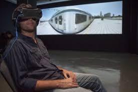 O uso do VR integra o espectador à obra