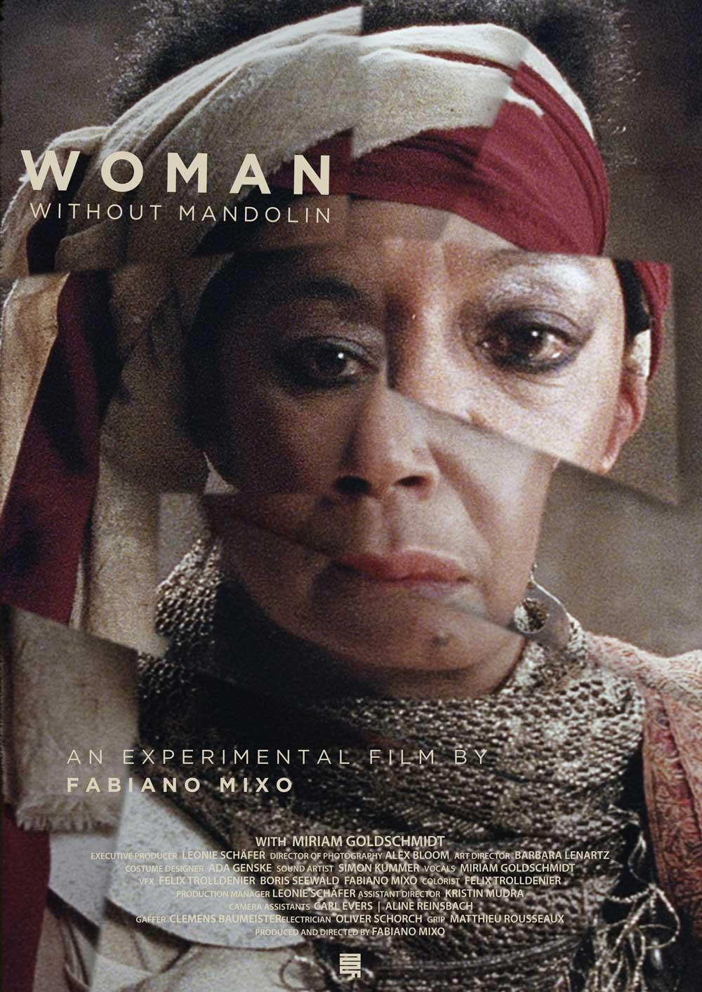 """Cartaz de uma das exibições do curta """"Mulher sem bandolim"""", de Fabiano Mixo"""