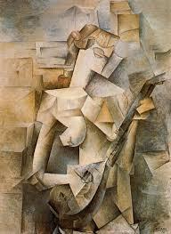 """Picasso,""""Moça com bandolim"""""""