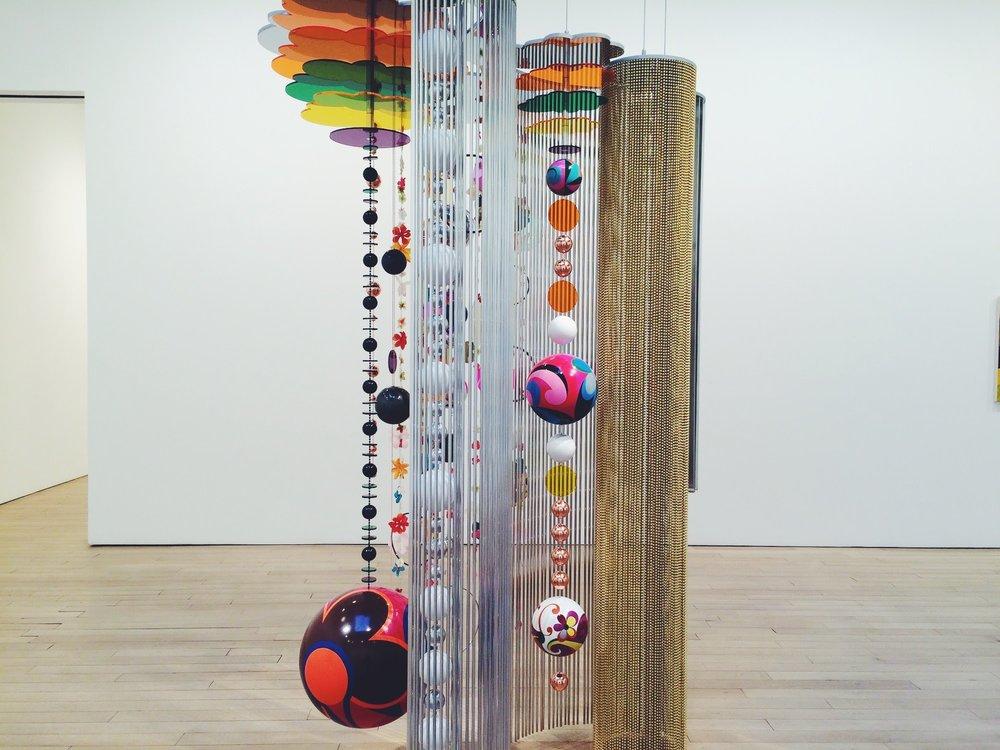 Beatriz Milhazes, Marola, escultura