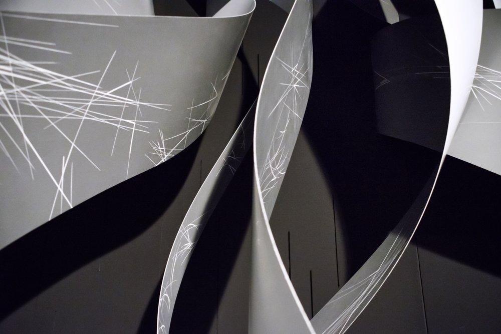 Licia Galizia e Michelangelo Lupone, Oásis, escultura-sonora, detalhe Foto de Fausto Cantone