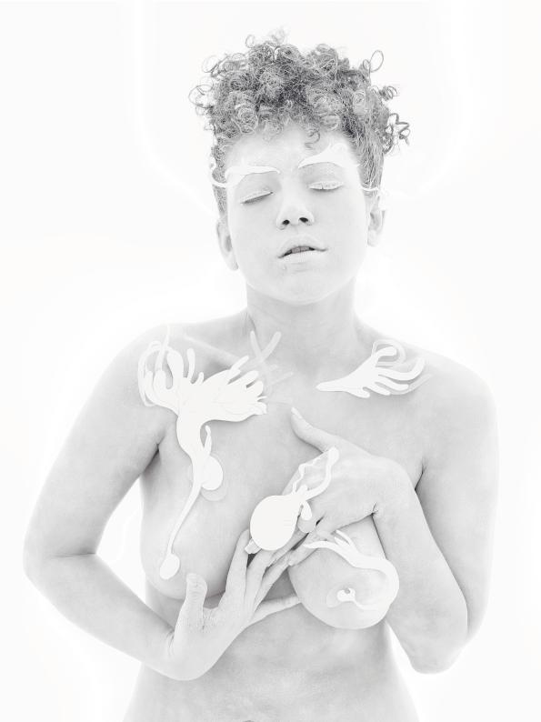 Apoena, coletivo, fotografia, performer Flávia Rodriguez