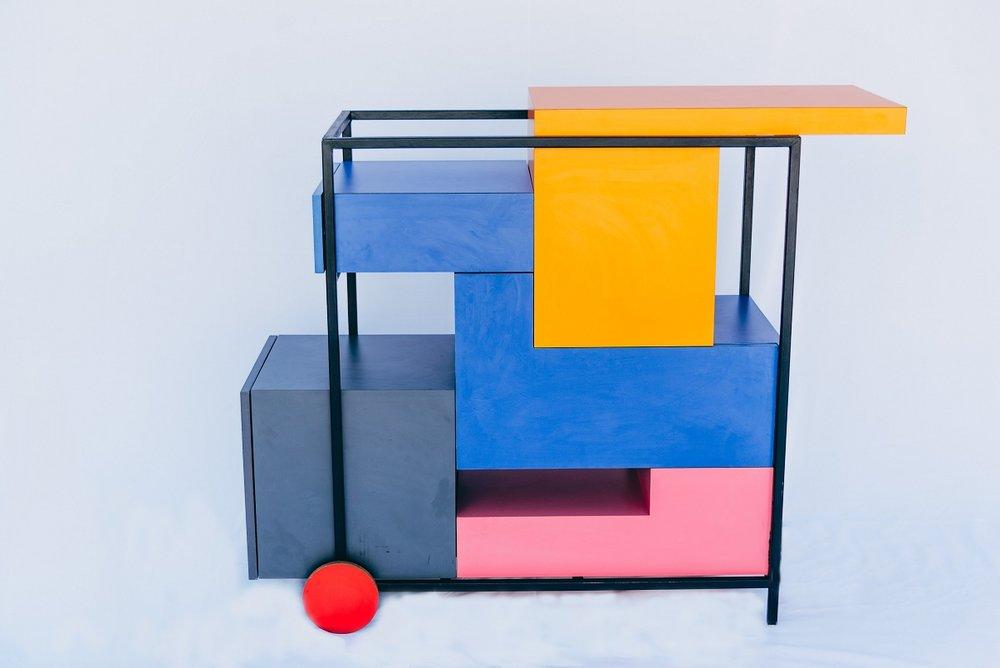 Pedro Galaso, Tetris, carrinho-bar