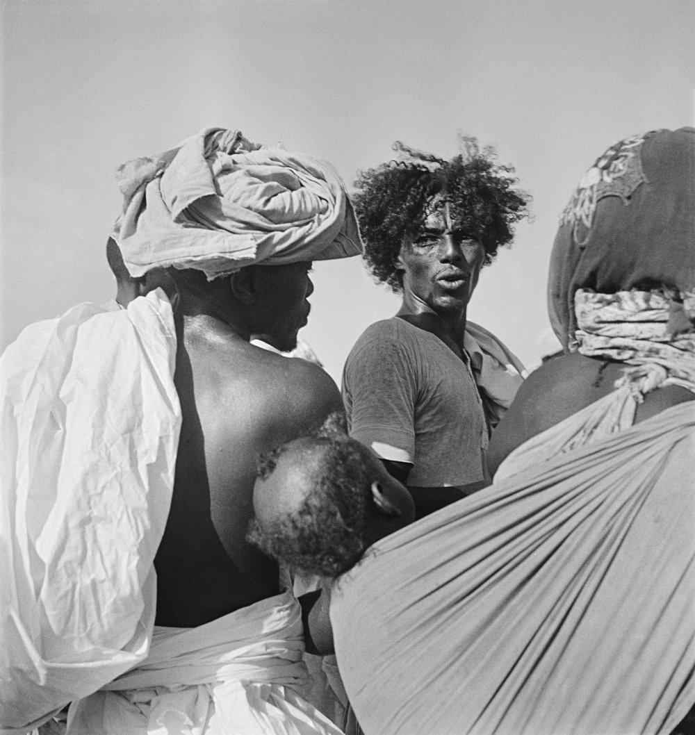 Pierre Verger,Djibouti, 1938,fotografia gelatina e prata, 26,5 x 26,5 cm