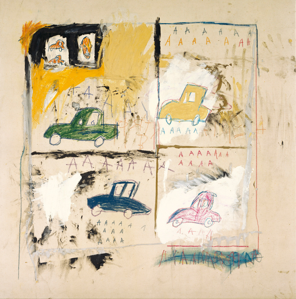 Jean-Michel Basquiat, Old cars, 1981