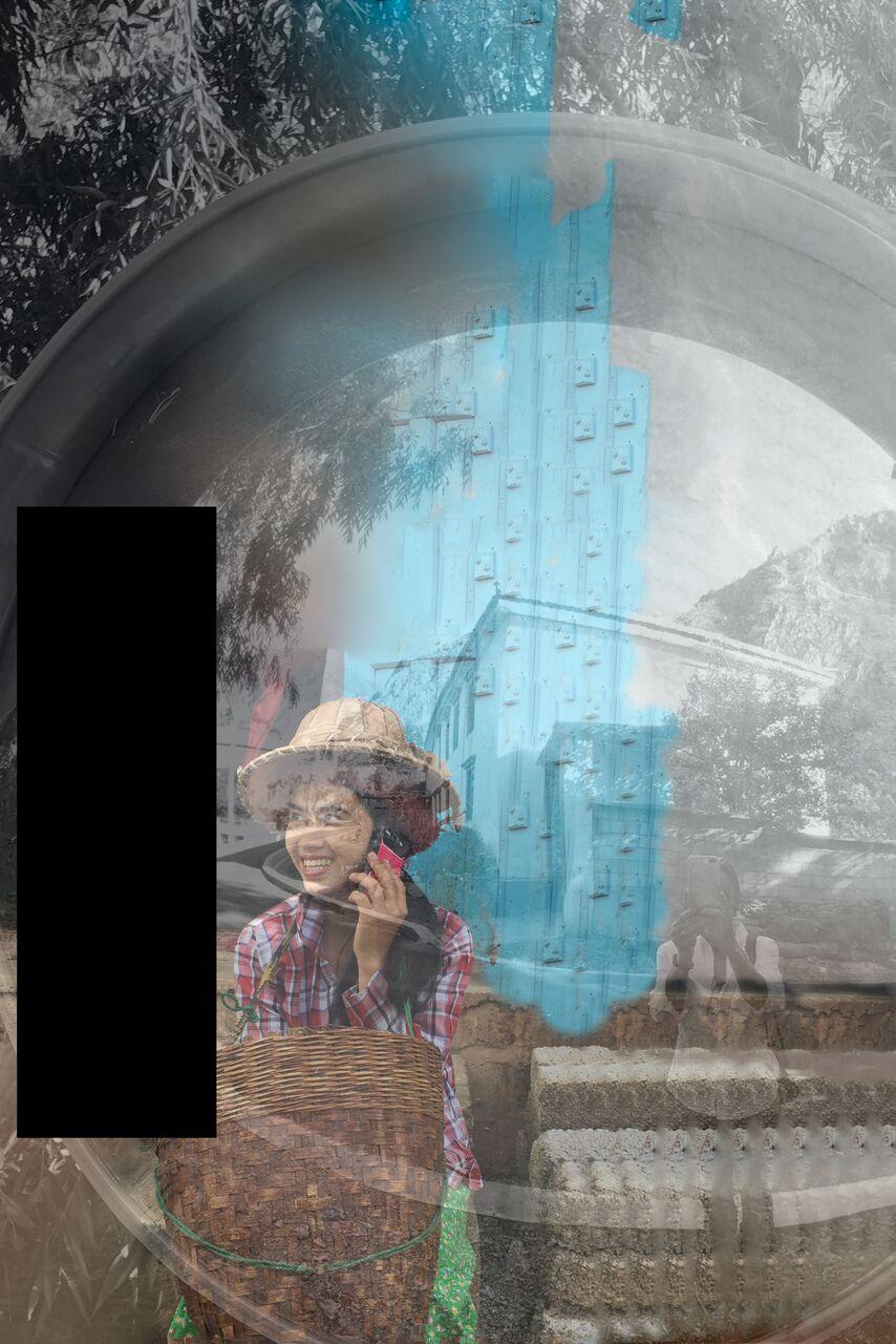 Bacia com espelho, 2017