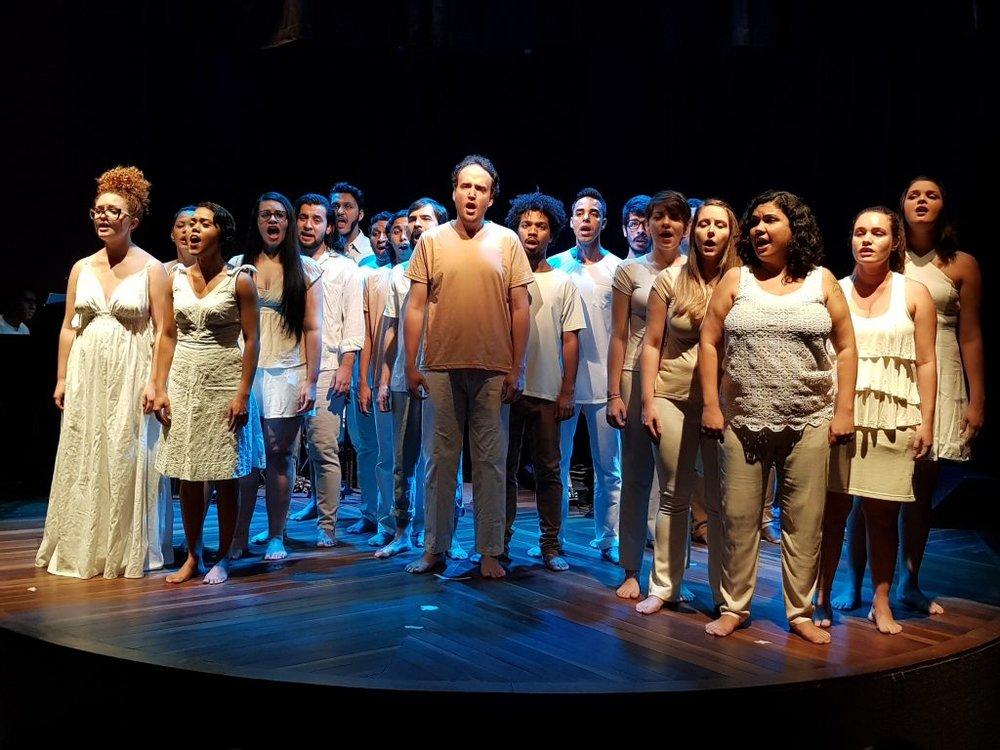 """O coro de Câmara apresenta """"Bitucanto"""", espetáculo em homenagem a Milton Nascimento"""
