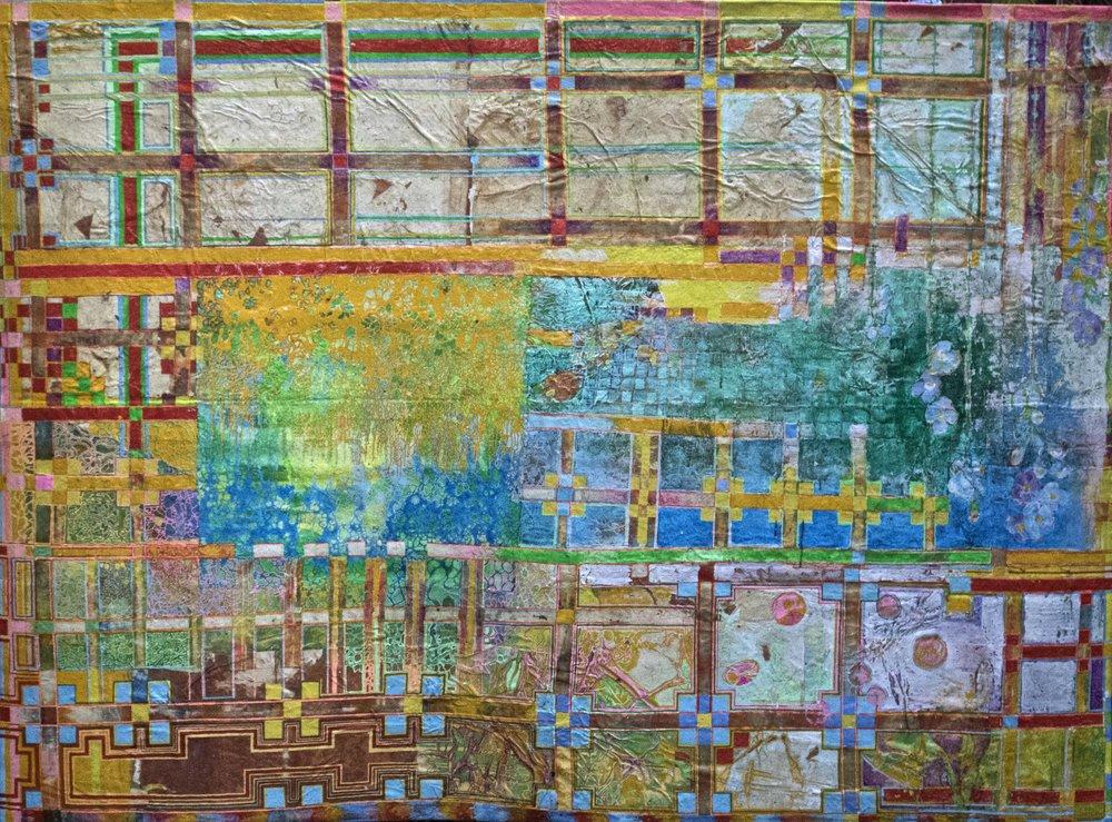 Delson Uchôa, Jardim Inventário,2017, 175 cm x 240 cm